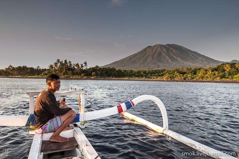 Бали, север острова -